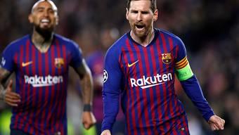 Kein einfaches Los für Lionel Messi und den FC Barcelona in den Champions-League-Viertelfinals