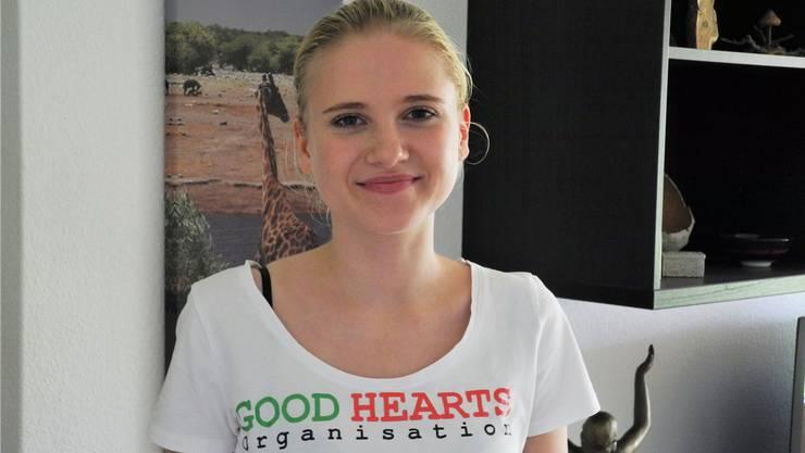 Immer wieder organisiert Jennifer Graf Spendenaktionen.