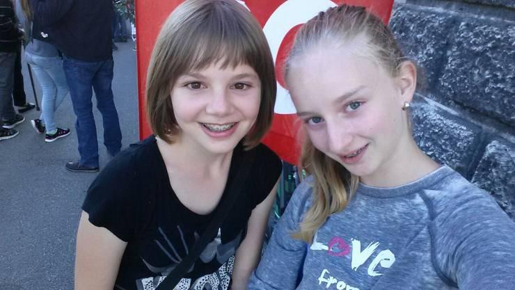 Nathalie Lauber und Sanja Flury