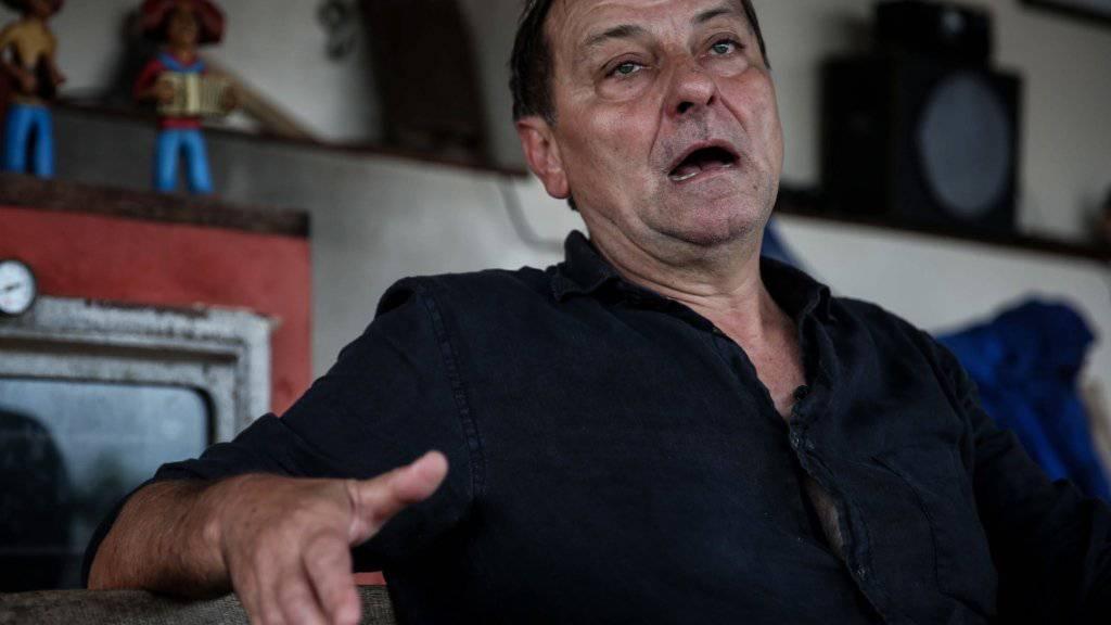 Cesare Battisti war im Jahr 1993 in Italien in Abwesenheit wegen vierfachen Mords zu lebenslanger Haft verurteilt worden. (Archivbild)