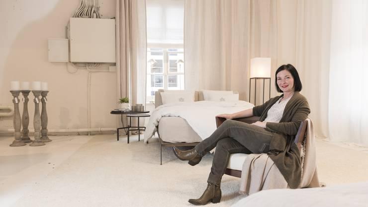 Jasmin Wullschleger eröffnet am Samstag, 18. März, in Vogelsang ein eigenes Möbelgeschäft - trotz herausforderndem Marktumfeld.
