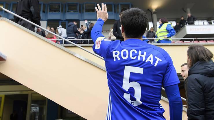 Alain Rochat nimmt Abschied von Lausanne und vom Profifussball
