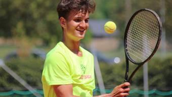 Tom Cecchetto versucht sein Glück als Tennisspieler künftig in Mississippi in den USA.