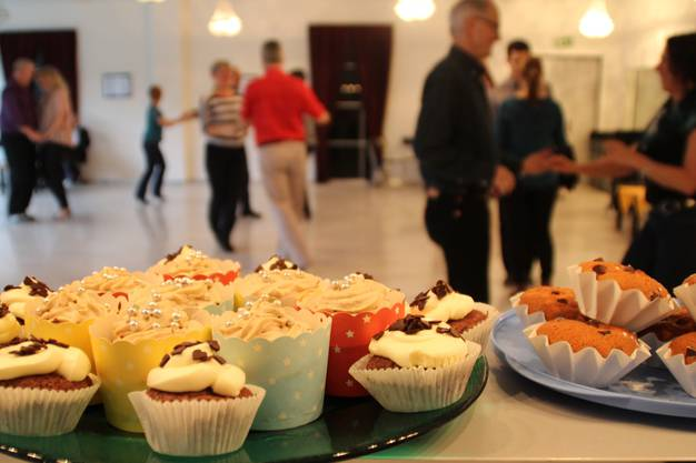 Die Hiphoplehrerin bei Dancer's World backte cupcakes
