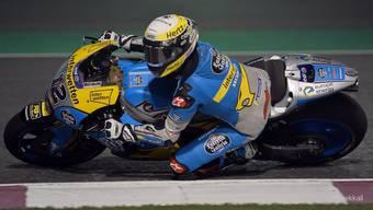 Tom Lüthi sagt vor seiner ersten MotoGP-Saison: «Ich hätte nie gedacht, dass es so schwierig sein würde.»