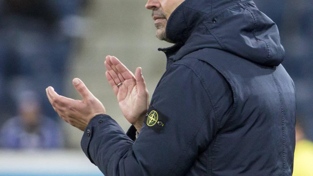 «Kompliment an die Mannschaft»: Luzerns Trainer Markus Babbel applaudiert