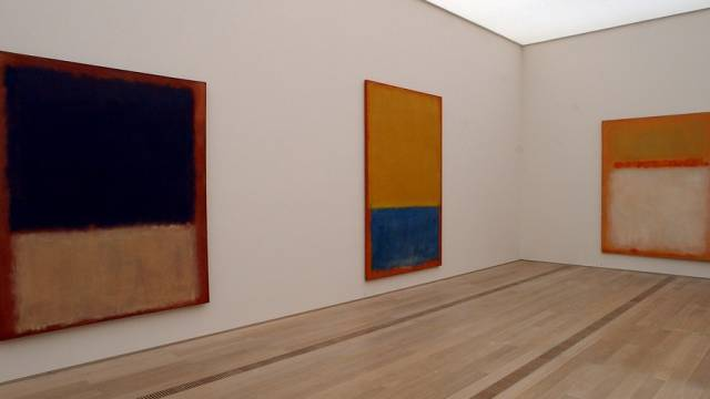 So malte Mark Rothko: Werke in der Fondation Beyeler (Archiv)