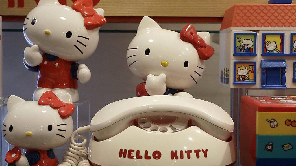 Hello-Kitty-Hersteller Sanrio hat laut der EU-Kommission die grenzüberschreitenden Verkäufe seiner Produkte in der EU behindert. (Archiv)
