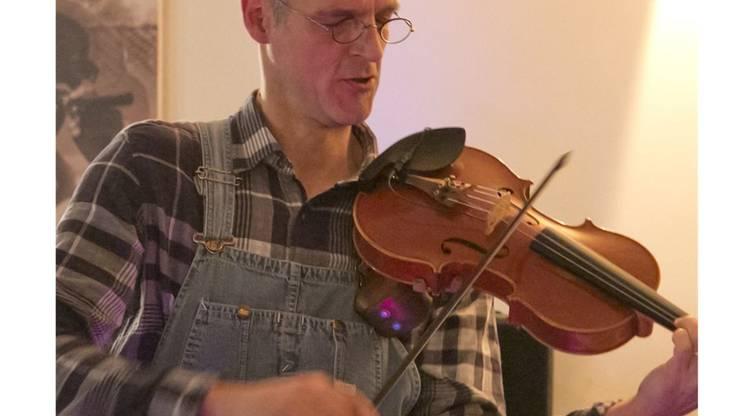 Violinist Rainer Hagmann.