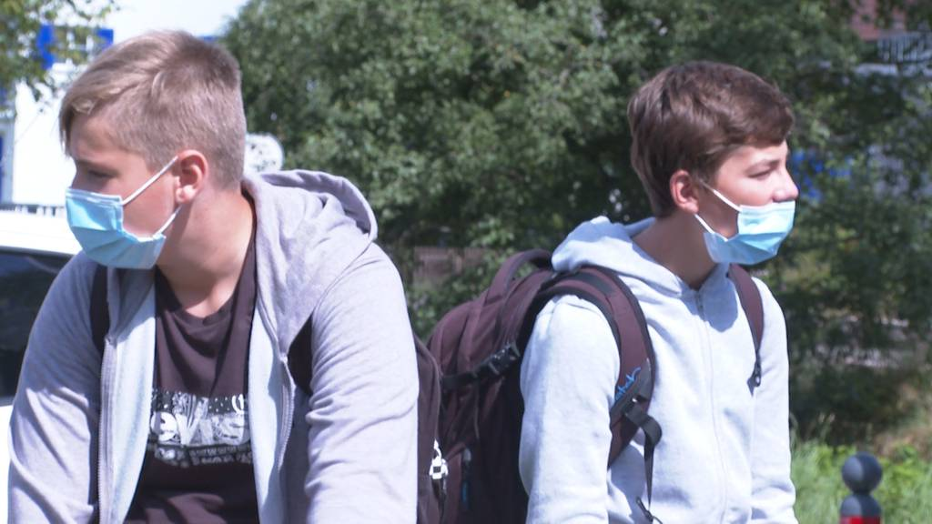Jetzt doch: An 27 Oberstufen-Schulen im Kanton Aargau gilt ab sofort wieder Maskenpflicht