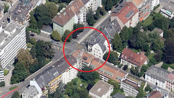 Nach dem Wohnungsbrand an der Austrasse, Ecke Schützenmattstrasse ist die Wohnung derzeit nicht mehr bewohnbar.