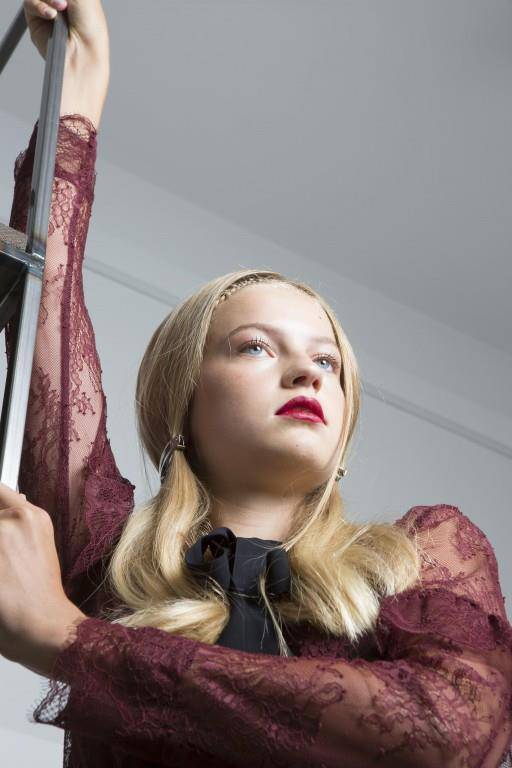 Aurélie Olivier liegt das Posieren vor der Kamera im Blut.