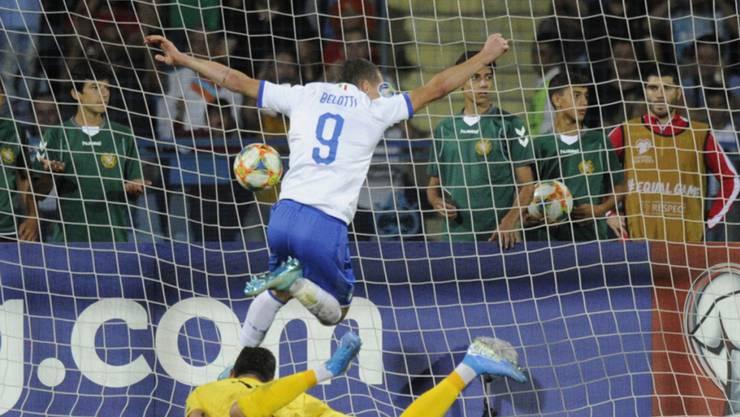Andrea Belotti schoss zwei Tore in Armenien