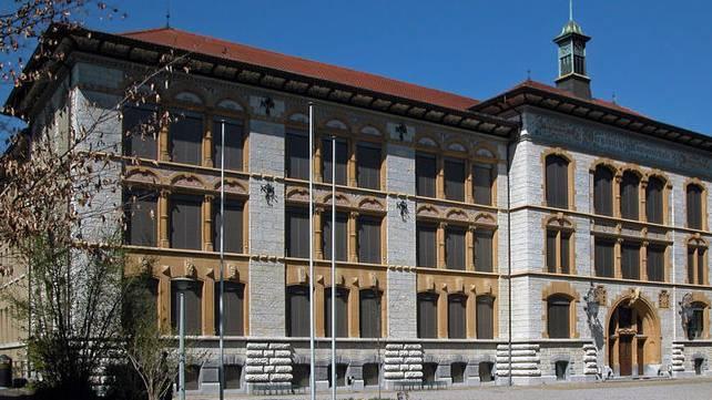 Alte Kantonsschule Aarau. (Archiv)