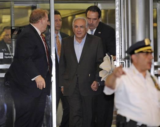 Strauss-Kahn soll vor eineinhalb Wochen ein Zimmermädchen in einem New Yorker Hotel überfallen und zum Oralsex gezwungen haben.