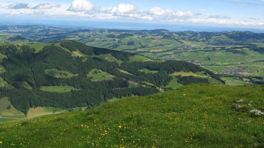 Starker Wind auf der Ebenalp – Tropennacht im Rheintal