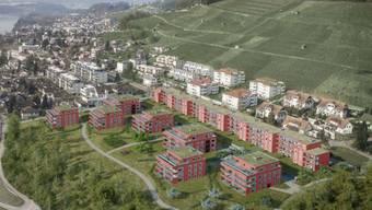 Der Bauboom, wie im Riedholzblick, führt zu einem Anstieg der Leerwohnungen in der Gemeinde Döttingen.