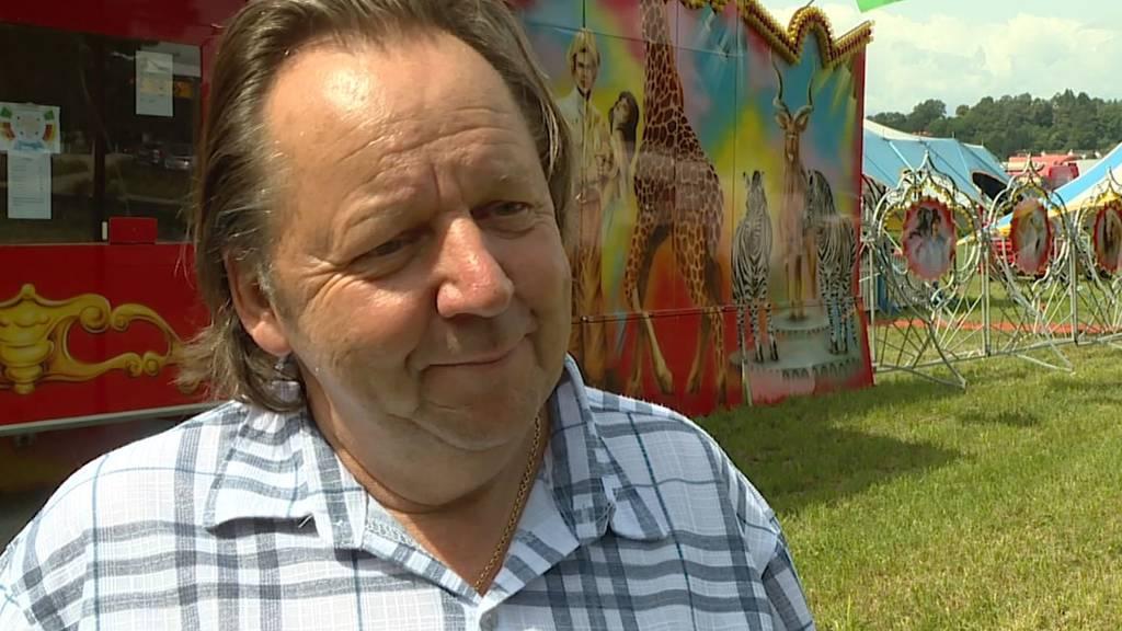 Zirkusdirektor Beat Breu hat das Gefühl, jemand habe es auf ihn abgesehen.