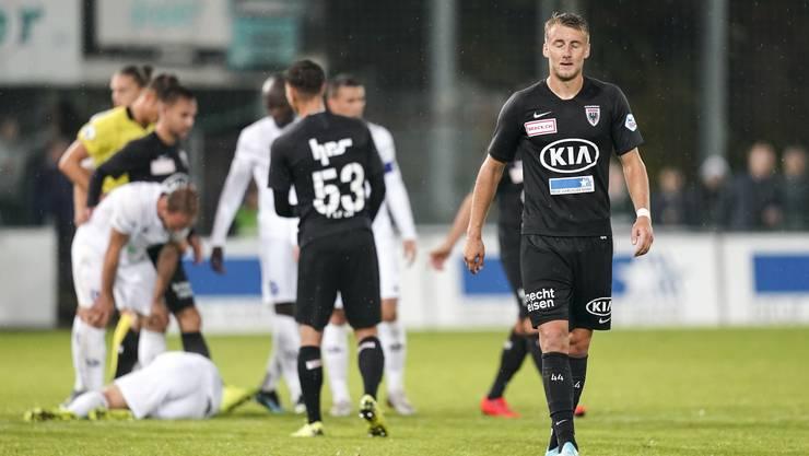 Der FC Aarau wird den Erwartungen nach 11.Spieltagen noch nicht gerecht.