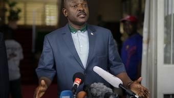 Erwartete Ablehnung: Präsident Nkurunziza will keine AU-Soldaten in seinem Land sehen.