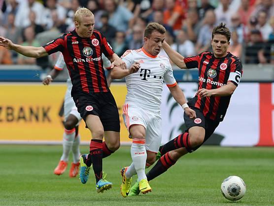 Bayern München muss sechs bis sieben Wochen ohne den Schweizer Flügelspieler auskommen.