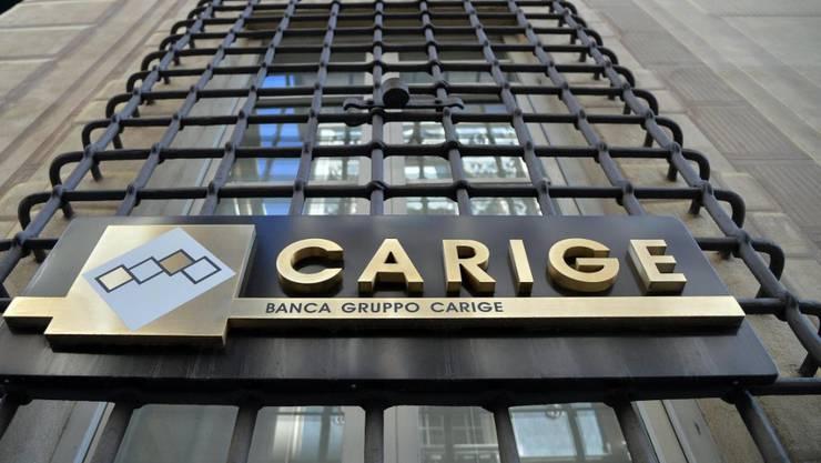 Der italienische Staat springt der angeschlagenen Banca Carige bei. (Archivbild)