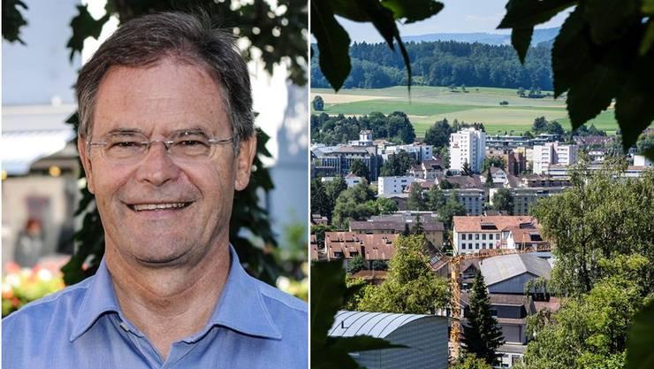 Walter Dubler, der Ammann von Wohlen, das knapp 16'000 Einwohner zählt und zu den wachstumsstärksten Gemeinden im Kanton Aargau gehört.