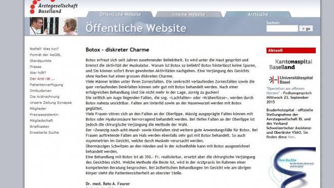 Der Artikel von Reto A. Feurer wurde mittlerweile entfernt.