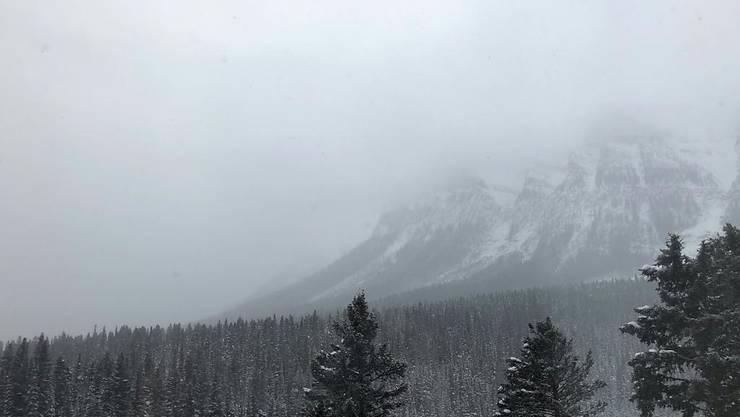Neuschnee verhindert das zweite Training der Frauen in Lake Louise