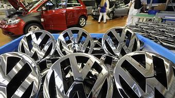VW behauptet in China seine Führungsposition (Archiv)