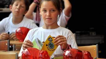 Mit Lehrmitteln wie «Kinder-Cash» oder «Potz Tuusig» wird Finanzkompetenz vermittelt.Pro Juventute