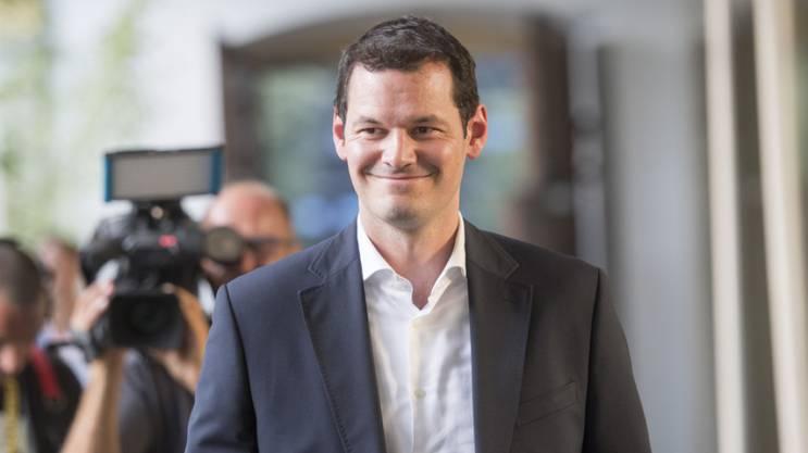 Der Genfer FDP-Staatsrat Pierre Maudet kandidierte im September für den Bundesrat, unterlag jedoch Ignazio Cassis.