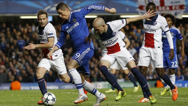 Chelsea schafft den Halbfinal-Einzug dank ihrem Auswärts-Tor gegen PSG im Hinspiel.
