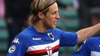 Reto Ziegler traf für Sampdoria zum 2:0-Schlussresultat