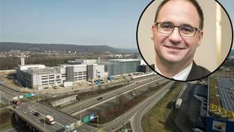 Stephan Burgunder, Gemeindepräsident Pratteln, äussert sich zur Salina Raurica