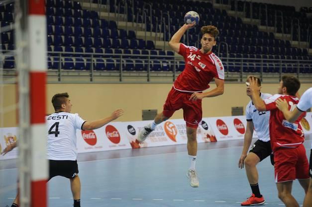 Jannis Voskamp stammt aus der Region und hat bereits einige Partien für den RTV Basel bestritten.