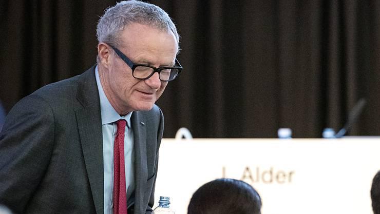 Grossaktionär Martin Haefner warb an der ausserordentlichen Generalversammlung von Schmolz + Bickenbach für seinen Sanierungsplan.