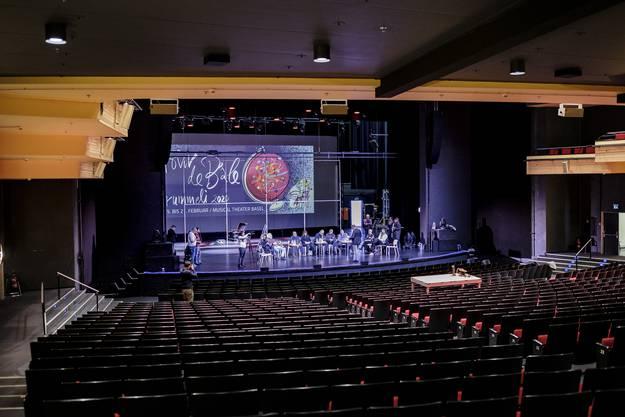 Das Musical Theater soll mit Zuschauern gefüllt werden, das Fasnachts-Comité will eine Vorverkaufsquote von 90 Prozent anstreben.