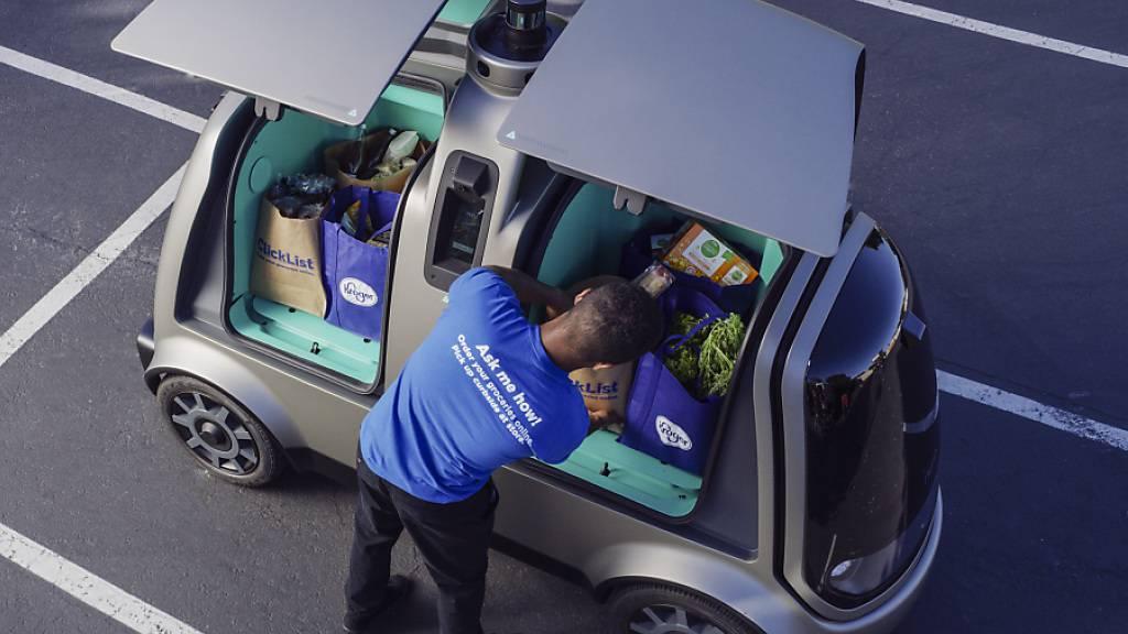 Kalifornien erlaubt Start-up Test von Lieferfahrzeugen ohne Fahrer