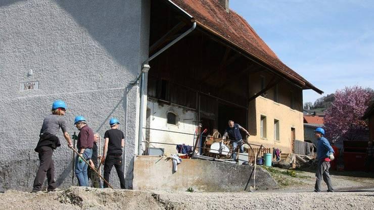 Am 18. August feiert das Freilichttheater «Anno 1798 - Die Franzosen kommen» Premiere. Im Mettauertaler Ortsteil Hottwil laufen die Vorbereitungsarbeiten dafür auf Hochtouren.