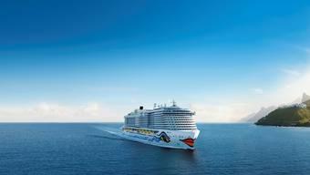 Vorzeigeschiff der Branche: Die «Aidanova» fährt seit November zu 100 Prozent mit Flüssigerdgas.