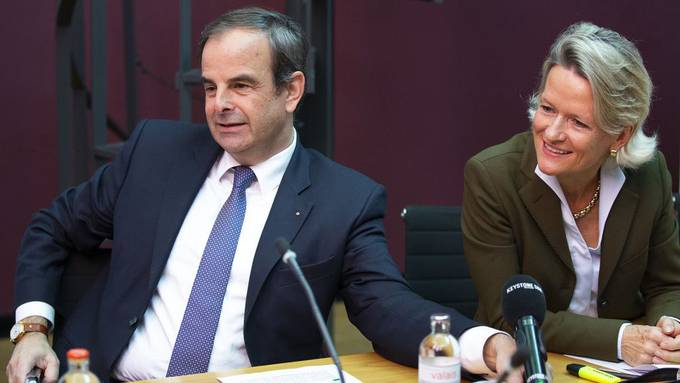 CVP-Präsident Gerhard Pfister und Andrea Gmür (CVP), Mitte-Fraktionschefin.