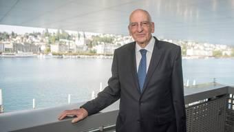 Trat mit 67 Jahren als Bundesrat zurück: Pascal Couchepin, hier 2018 am Treffen der Alt-Bundesräte in Luzern.