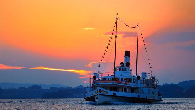 Das Dampfschiff «Stadt Luzern» ist eines der beiden Lieblingsschiffe von Georg Ritter.