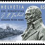 Briefmarken Johann Peter Hebel