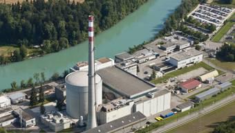 Das Kernkraftwerk Mühleberg an der Aare (Archiv)
