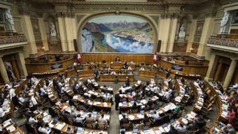 Der Nationalrat an seiner Sitzung vom Montag