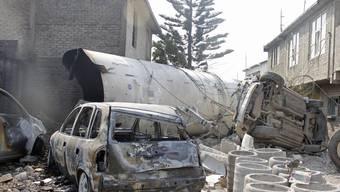 Tanklastwagen explodiert bei Mexiko-Stadt
