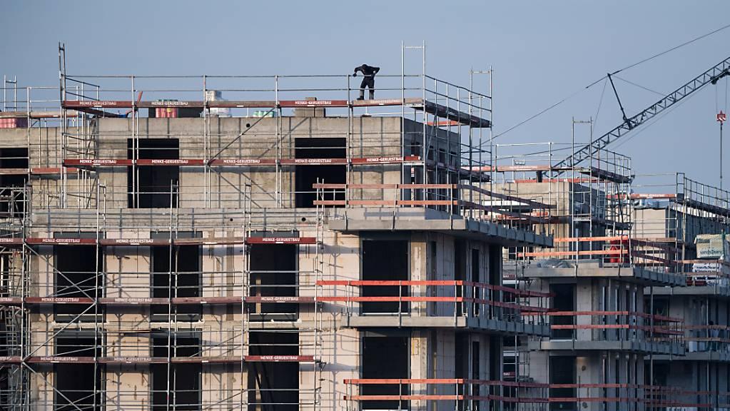 Corona treibt UBS-Immobilienindex in Blasenzone hoch. (Archiv)