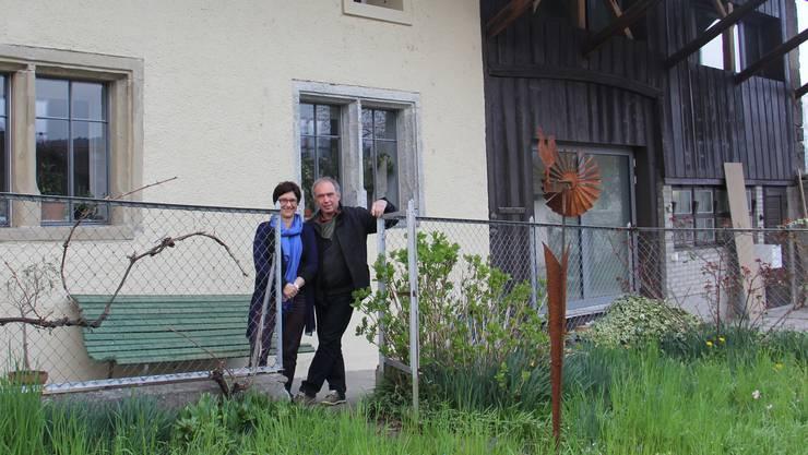 Sandra Stamm und Alois Deiss haben sich in Unterwindisch ihren Wohntraum erfüllt